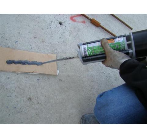 Installation chemischer Verankerungen