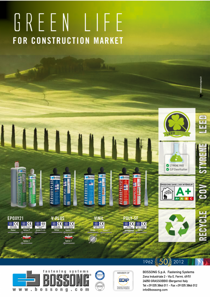 GREEN LIFE for construction market